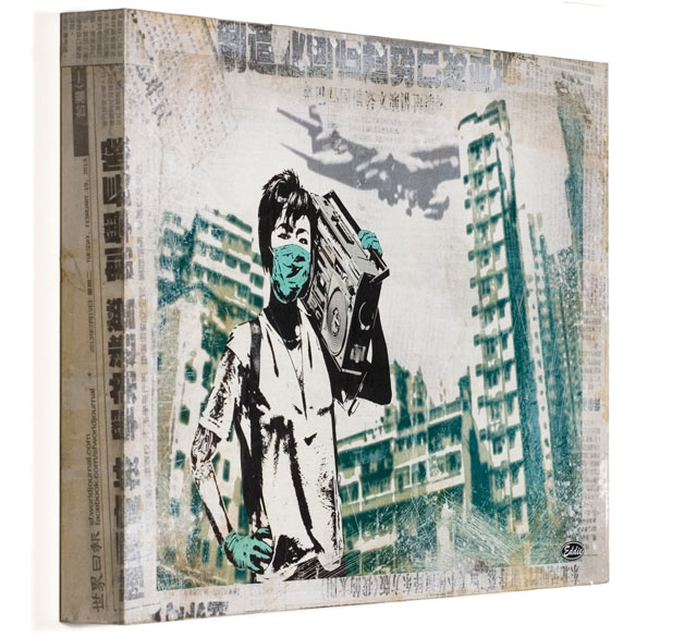 Air Kowloon by Eddie Colla