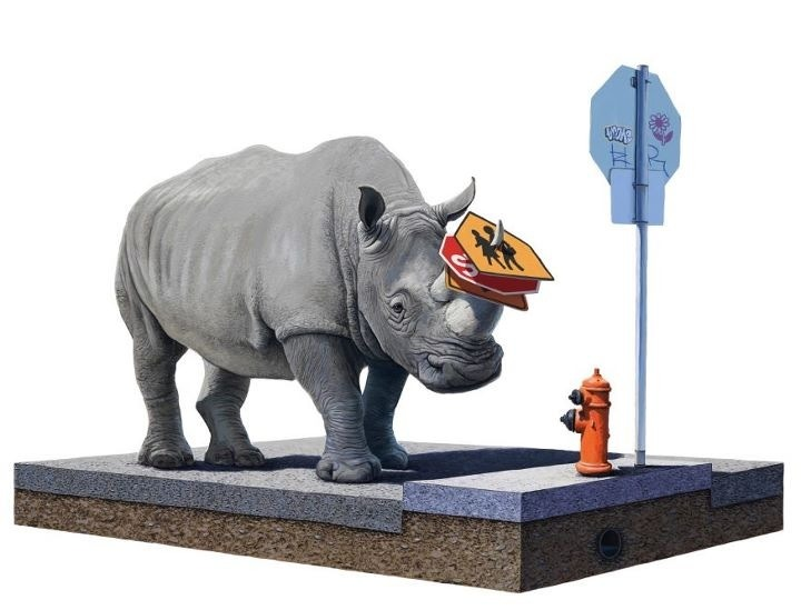 Josh Keyes The Collector