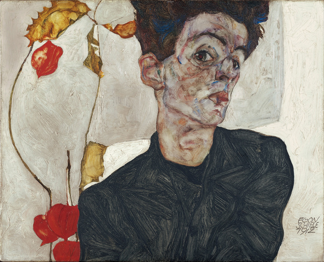 egon-echiele-Self-Portrait_with_Physalis_-_Google_Art_Project