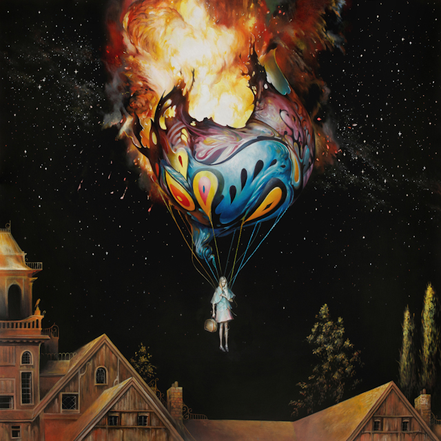 New paintings from artist Esao Andrews on view now at Jonathan Levine Gallery in New York City.